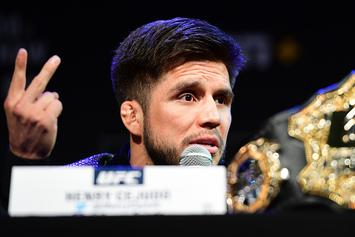 UFC's Henry Cejudo Relinquishes Flyweight Championship