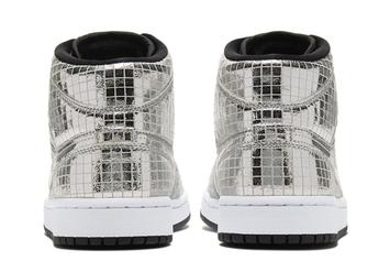 "Air Jordan 1 Mid ""Disco Ball"" Officially Unveiled: Details"