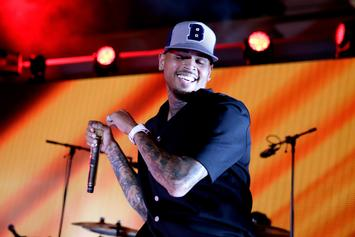 Chris Brown Cuddles Up With Newborn Son, Aeko, For Naptime