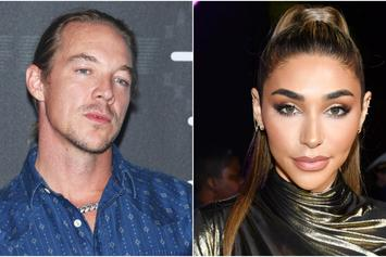 Diplo & Chantel Jeffries Cuddle Up Together In Mexico