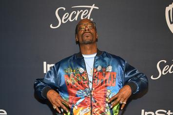 "Snoop Dogg Leaves ""Token Of Appreciation"" At Golden Globes: A Half-Smoked Blunt"