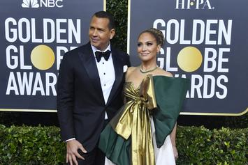 Alex Rodriguez Writes Loving Letter To Jennifer Lopez After Golden Globes Loss