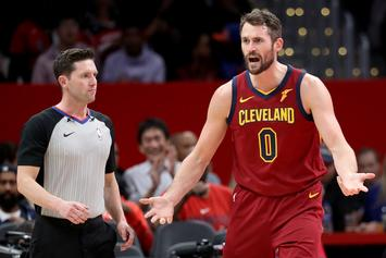 Kevin Love Reacts To His Recent Outbursts, Speaks On Cavs Future