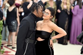 Travis Scott & Kylie Jenner Flirt On IG After Curly Fries Comment