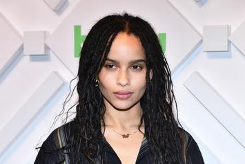 """Zoe Kravitz's """"Catwoman"""" Training Leaves Her """"Limping Every Day"""""""