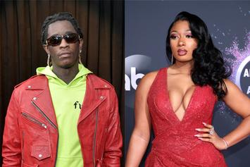"Young Thug Uses Megan Thee Stallion's Dog To Insult ""Y'all H*es"""