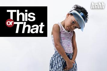 "Viral Sensation ZaZa Picks Between Nicki Minaj & Cardi B In Kid's Edition Of ""This Or That"""