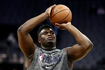Zion Williamson's NBA Debut Flexed Into Nationally Televised ESPN Game