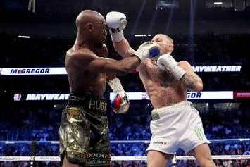 "Floyd Mayweather Teases ""Mayweather-McGregor 2"" In 2020 After UFC 246"