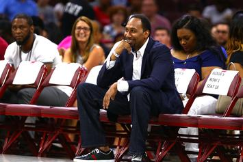 Stephen A. Smith Reveals The Captain Of His Celebrity All-Star Team