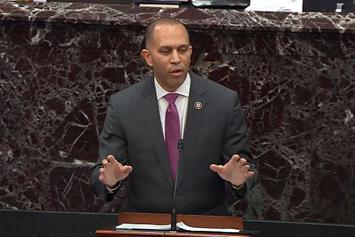 Hakeem Jeffries Quotes The Notorious B.I.G During Trump Impeachment Trial