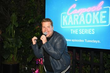 "James Corden Exposed For Not Actually Driving In ""Carpool Karaoke"" With Justin Bieber"