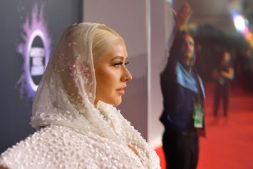 Christina Aguilera Drops Gems While Posing Nude During Photoshoot