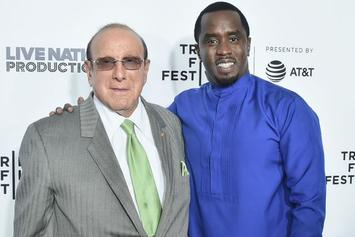 "Diddy ""Blown Away"" By Clive Davis Pre-Grammy Award In Thank You Video"