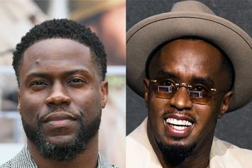 Diddy & Kevin Hart Make Motivational Toasts At Roc Nation Brunch