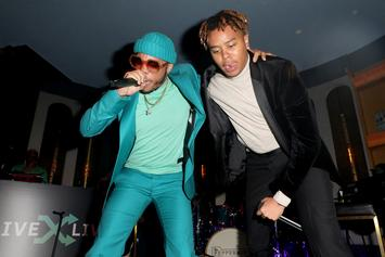 YBN Cordae & Anderson .Paak Surprise Crowd At Pre-Grammys Jam Session