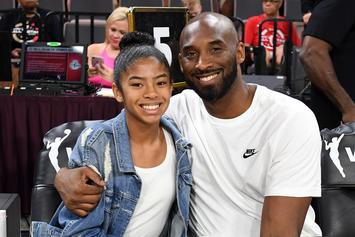 Kobe Bryant's Daughter Gianna Honored By UConn Women's BBall Team