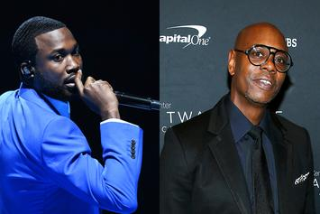 "Meek Mill Lights Up With Dave Chappelle ""In The Cut"" During Grammy Festivities"