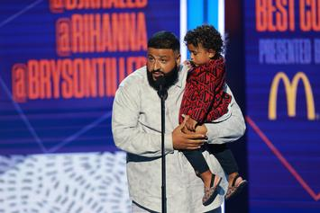 DJ Khaled Captures Touching Moment Between His Two Sons In First Photo Together