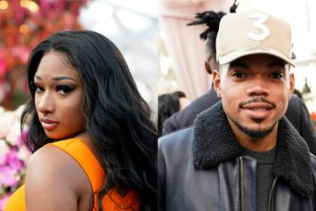 "Megan Thee Stallion Gets ""Punk'd"" By Chance The Rapper With Gorilla: Watch"