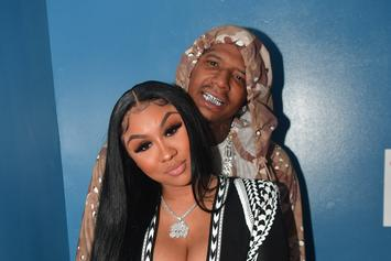Moneybagg Yo Allegedly Snatches Ari Fletcher's Wig Off In The Street After Fight