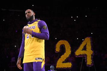 LeBron James Explains Picking Gianna Bryant's Number For All-Star Game