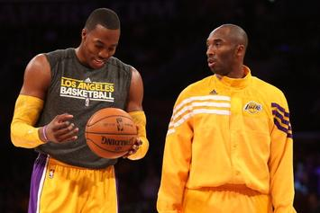 Dwight Howard: Kobe Bryant Had Agreed To Help In Dunk Contest