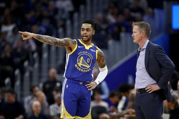 """Steve Kerr On D'Angelo Russell: """"To Be Blunt, The Fit Was Questionable"""""""
