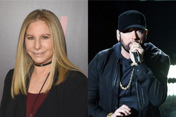 "Barbara Streisand Voted For Eminem's ""Lose Yourself"" At 2003 Oscars"