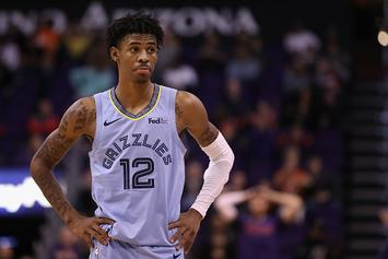 Ja Morant Reacts To News Of Lillard's All Star Replacement