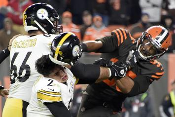 Myles Garrett Reveals What Mason Rudolph Allegedly Said Before Fight