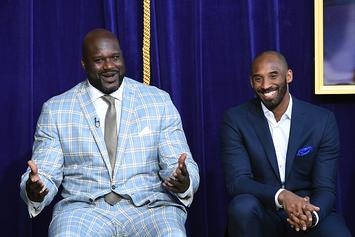 Shaq Honors Kobe Bryant With New Freestyle