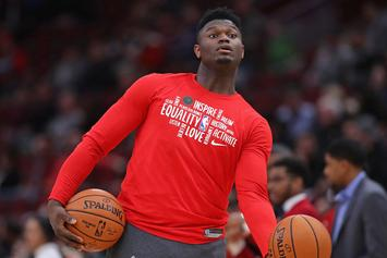 Zion Williamson Divulges On The Biggest Surprise Of His First Season