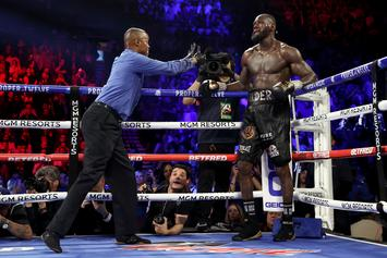 Deontay Wilder Parts Ways With Trainer After Throwing In The Towel