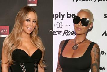 "Amber Rose Jokes About Being A ""Hoe"" While Posing With Mariah Carey"