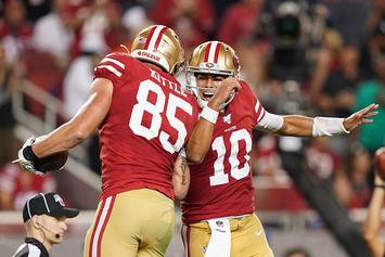 49ers George Kittle Backs Jimmy G Amid Tom Brady Rumors