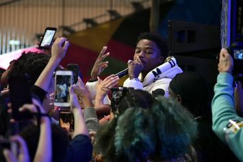 Roddy Ricch Is On His Jay-Z Lakers Game Energy