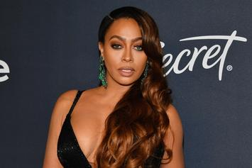 "La La Anthony Is 100% ""A Vibe"" In These Bikini Pics Taken in DR"