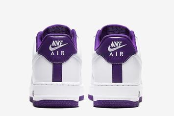 """Nike Air Force 1 Low """"Voltage Purple"""" Drops Soon: Photos"""