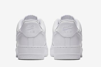 "Nike Air Force 1 Low ""Triple-White"" Returning For Spring: Photos"