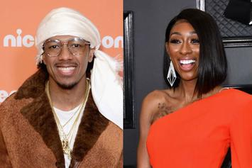 """Lala Milan Playfully Tells Nick Cannon He Can't Rap: """"Just Stop"""""""