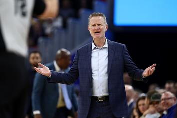 Steve Kerr Reacts To Footage Of Post Malone's Sold Out Show