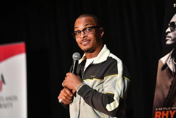 T.I. Befuddled After Walking In On Family Dance Party