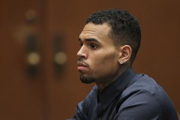 Chris Brown Can't See His Son Because Of Coronavirus: Report