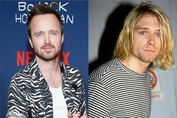 Aaron Paul Wants To Play Kurt Cobain In A Nirvana Biopic