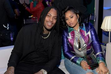 Waka Flocka Clowns Wife For Attempting #SavageChallenge