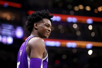 "De'Aaron Fox Disses NBA 2K On Twitter: ""2K Is A Trash Game"""