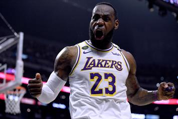 LeBron James & His Family Are Blossoming Into TikTok Stars
