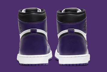 "Air Jordan 1 High OG ""Court Purple"" Coming Soon: Official Images"