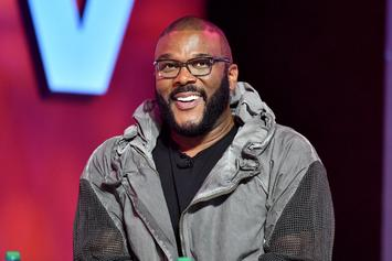 "Tyler Perry Talks Madea Criticism With T.I., Doesn't ""Enjoy Wearing A Dress"""
